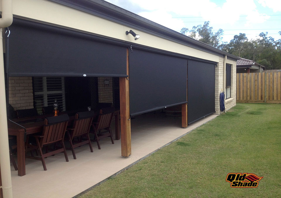 The benefits of a sunshade system qld shade for How much do motorized blinds cost